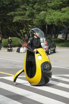 Hyundai Motor Company reveals unique concepts for single-person future mobility, designed for use in congested cities across the globe. Prototypes have been created by engineers working at the company's research and development centre in Korea for an internal contest called the 'IDEA festival'.