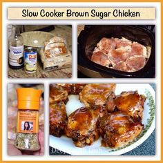SLOW COOKER BROWN SUGAR CHICKEN ~ Recipe of today