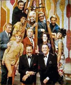 Laugh In......comedy that ran from 1968 until 1973 on NBC.