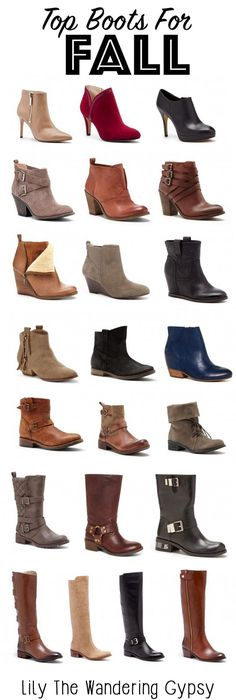 Check out these Top Boots For Fall! Sole Society has SO many styles!!
