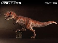 REBOR Tyrannosaurus rex (KING T-REX) Dinosaur Model available from Everything Dinosaur from £38.99 plus postage.