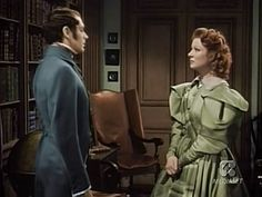 "Everything About Greer Garson -- Colourized still pictures from ""Pride and Prejudice"" Classic Actresses, Classic Movies, Darcy Pride And Prejudice, Greer Garson, Jane Austen Books, Still Picture, Everything, Ruffle Blouse, Victorian"