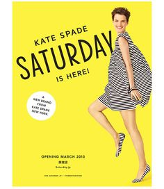 Kate Spade Saturday Launch by Allison Henry Aver