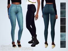 Chisami: Some conversions from TS3 to TS4 • Sims 4 Downloads