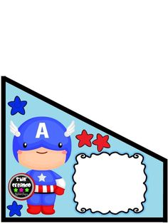 Hero Of The Day, Superhero Baby Shower, Cardcaptor Sakura, Learning Spanish, Toy Story, Ideas Para, Smurfs, Banner, Clip Art
