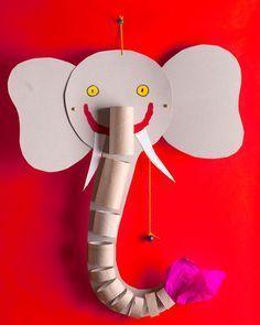 Thema olifanten kleuters / Elephant
