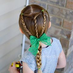 Braided hairstyles for girls - New Hair Easy Toddler Hairstyles, Lil Girl Hairstyles, Girls Hairdos, Cute Hairstyles For Kids, Girls Braids, Braided Hairstyles, Teenage Hairstyles, Pretty Hairstyles, Boy Haircuts