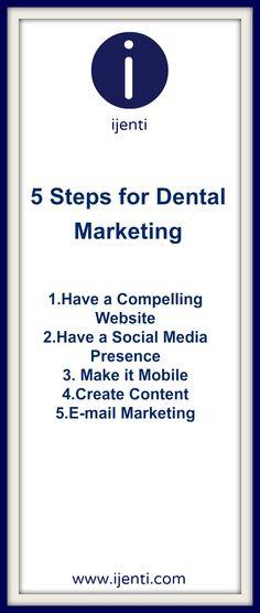 Dental Marketing ideas http://www.contentite.com/dental-marketing-ideas-that-will-get-you-in-the-online-game/