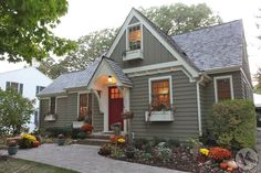 hardie board lap siding - Google Search - heathered moss