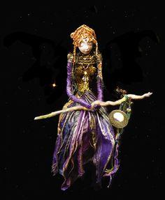 Warrior - spirit art doll