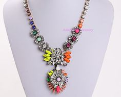 Statement Necklace Luxury Necklace Fashion by AdaFashionJewelry, $62.00