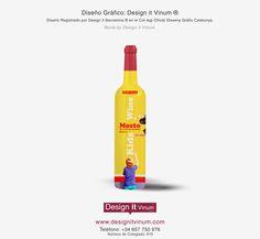 Diseño Gráfico y Packaging Botella de Mosto Design it designitvinum.com