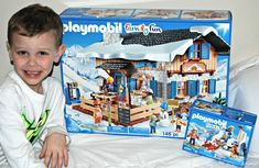 Fun Winter Themed Playsets from Playmobil - Naturally Cracked Winter Theme, Fun Activities, My Boys, Snowmen, Skating, Seasons, Olympics, Pond, Hate
