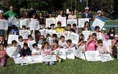 """""""Si no te portas bien con el medio ambiente, llamo a los chicos de la bolsa"""". www.lasextaseccion.com.ar"""