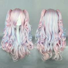 New Arrival Long Deep Wave Mixed Color Cosplay Wig 26 Inches, $55.99 | Prettywighair.com