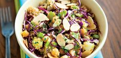 Sweet and Spicy Quinoa, Cabbage, and Apple, alive #378, April 2014