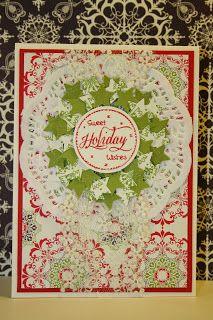 StampinSyl Stampin Up kerstkaart / christmas card