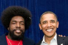 Questlove x Obama