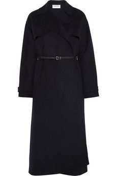 Valentino Belted wool and cashmere-blend trench coat | NET-A-PORTER