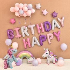 Quality Unicorn Party Balloons Happy Birthday Party Air Ball Package Baby Shower Birthday Decoration Girl Boy Letter Balloon with free worldwide shipping on AliExpress Mobile Unicorn Themed Birthday Party, Happy Birthday Parties, Happy Birthday Wishes, Birthday Balloons, Simple Birthday Decorations, Birthday Party Decorations, Instagram, Unicorn Balloon, Serin