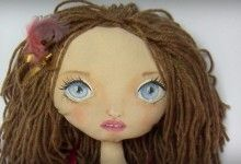 OOAK cloth doll by Nashelale