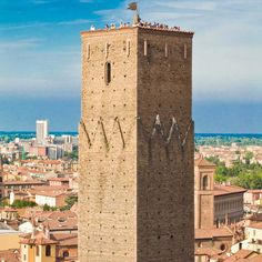 A bird's-eye view from the top of the Torre, Bologna, Italy | Lonely Planet's World Best Hotels.    Image courtesy of Prendiparte B&B.