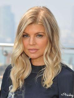 I like Fergie's hair here!