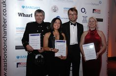 """Greenwich Communication Centre picked up """"Highly Commended Finalist"""" for Best New Business at the Docklands Business Club & East London Chamber of Commerce Business Awards 2009."""