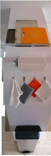 More easy kitchen storage.