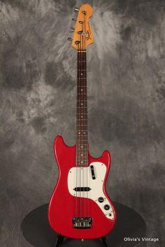 Fender Musimaster Bass 1973 Red
