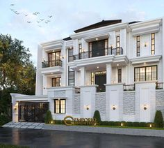 Classic House Design, Duplex House Design, Maids Room, Latest House Designs, Luxury Homes Dream Houses, Architect Design, Floor Design, My Dream Home, Home Projects