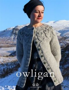 Exceptionally cosy winter cardigan in super-bulky yarn.  With a choice of two lengths; charted or written instructions, and the option of knitting the sleeves flat or in the round, this pattern is a speedy knit and a great beginner sweater.