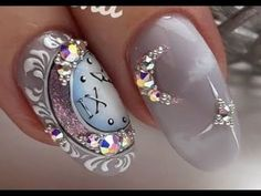 Nail Art Designs In Every Color And Style – Your Beautiful Nails New Years Nail Designs, New Years Nail Art, New Nail Art, Nail Art Diy, Easy Nail Art, Cool Nail Art, Diy Nails, Cute Nails, Nail Art Designs