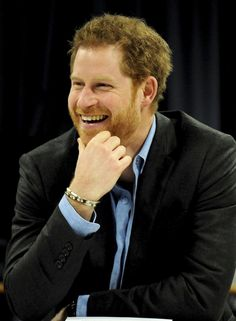Your Heart Is Not Ready For These Ridiculously Smiley Photos of Prince Harry
