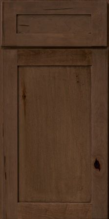 """Cabinet stain Rustic Maple in Saddle - KraftMaid Cabinetry"""" Condo Kitchen, Kitchen Redo, Kitchen And Bath, New Kitchen, Kitchen Remodel, Kitchen Tables, Kitchen Island, Just Cabinets, Staining Cabinets"""