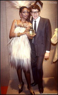 Saved by Barb Quick PHOTOS - Mounia, à l'époque où elle défilait pour Yves Saint Laurent, en 1983.