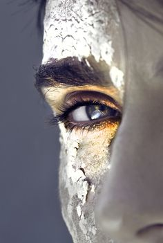 angles, model, eye makeup, color, flake, performance art, paint, beauty, editorial photography