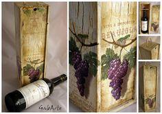 Skrzynka na wino itd