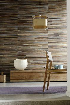Robinson collection - wallcovering 100% handmade wallcovering. Abaca material…
