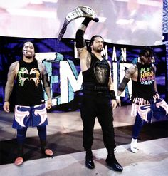 The Uso's and Roman Reigns