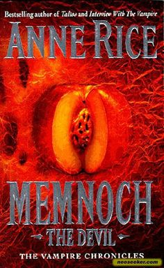 I'm not really keen on horror books but someone i know thought I might enjoy Anne Rice's epic Memnoch the Devil, and she was right - I really enjoyed it.