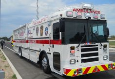 San Antonio Fire Department EMS Bus (new Aug 2012)