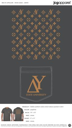 Delta Tau Delta Recruitment Shirt | Fraternity Recruitment | Greek Recruitment #deltataudelta #dtd #Recruitment #symbols