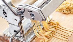 Homemade Fresh Pasta, Made with Just Two Ingredients (and Water)  |  The Feed... Of course I'll have to make it GFree.