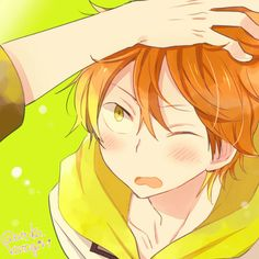 Free! ES ~~ Patting Peaches on the head. Kawaii! :: Momotarou Mikoshiba
