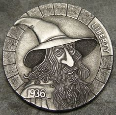Hobo Nickel Art - Hand Carved Coins   http://rederr.com/hobo-nickel-art-hand-carved-coins/