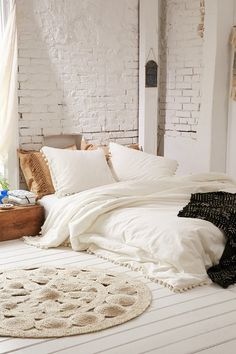 Shop for Pom-Fringe Duvet Cover by Magical Thinking at ShopStyle. Now for $132–146.