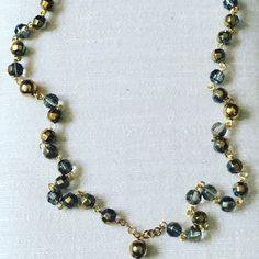 Handmade two tone rosary