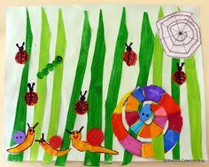 Maestra Caterina: Primavera: Animaletti nel prato