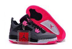 48640fdcbf3 Find Top Deals 2017 Air Jordan 4 GS Black Grey Hyper Pink online or in  Footseek. Shop Top Brands and the latest styles Top Deals 2017 Air Jordan 4  GS Black ...